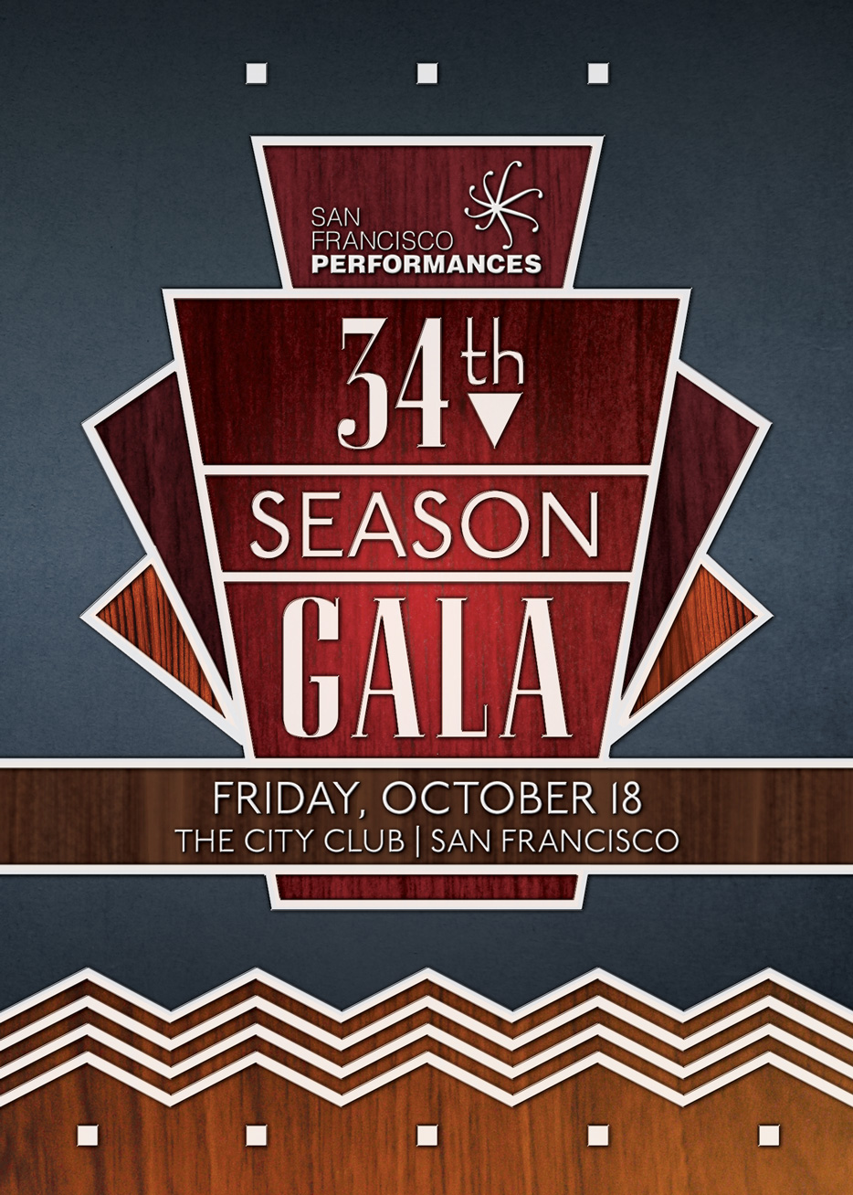 San Francisco Peformances Gala Key Art